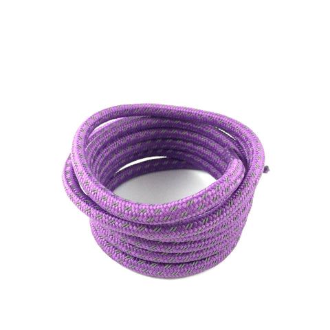 3m cross grain rope shoelaces purple