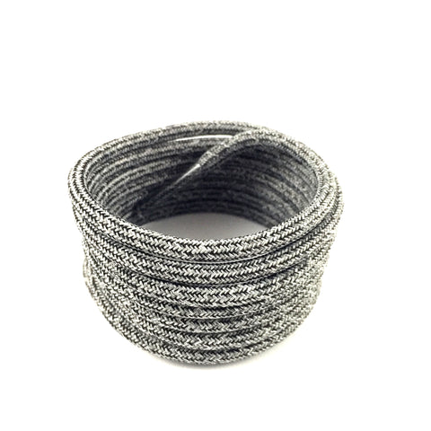 multicolor oreo rope shoelaces