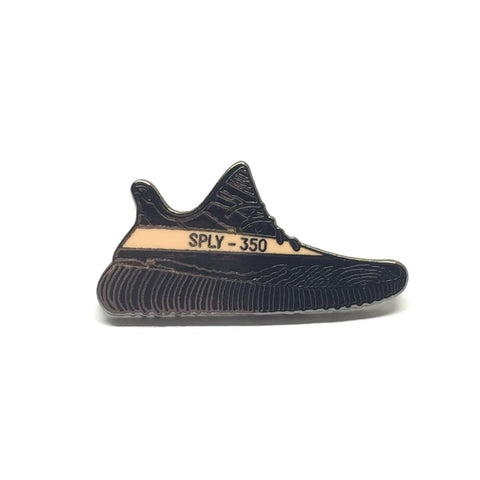 sneaker enamel pins yeezy boost 350 copper