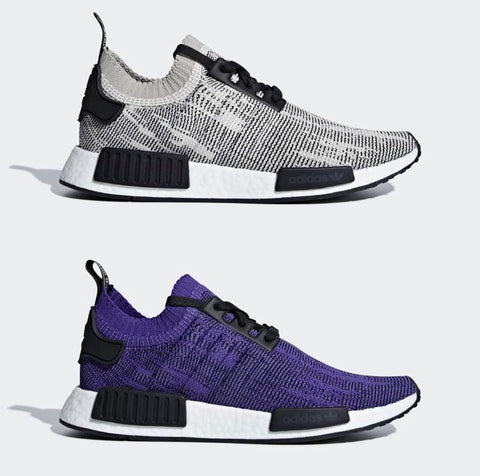 ADIDAS NMD R1 with embossed 3stripes branding?