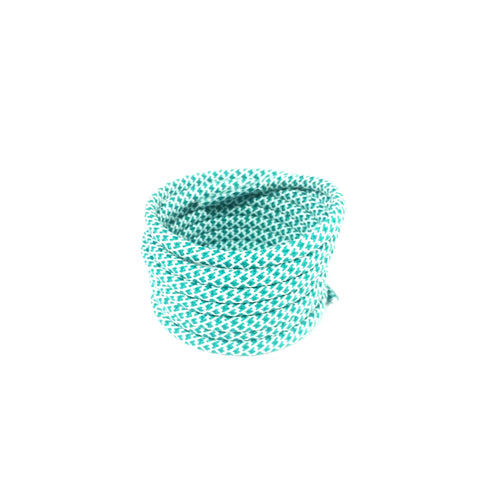 2tone fresh mint rope shoelaces