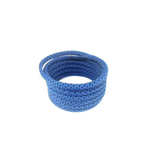 midnight blue 2tone rope shoelaces