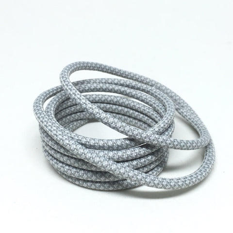 2tone moonrock grey rope shoelaces