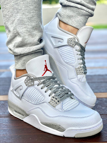 Where to buy Cement laces for Air Jordan 4?   Slickieslaces
