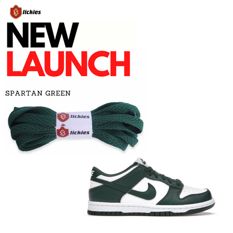 where to buy spartan green team green laces
