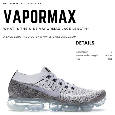 What is the NIKE Vapormax lace length? - Air Max 1 Replacement Laces