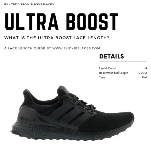 What is the Ultra Boost lace length? - Ultra Boost Replacement Laces