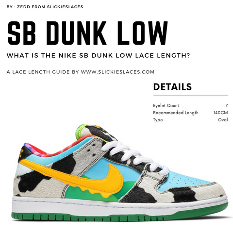 What is the NIKE SB Dunk Low lace length? - SB Dunk Low Replacement Laces