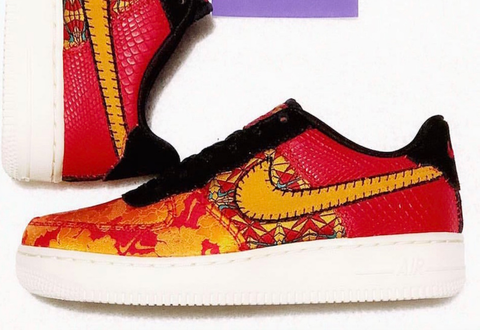 NIKE's Air Force 1 Low celebrates the Chinese New Year