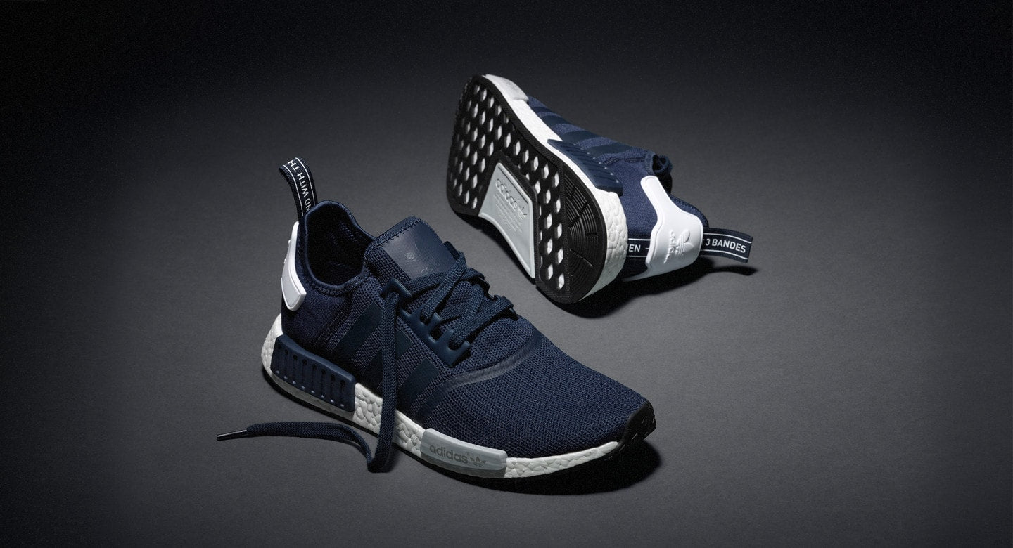 84eb2ae9924 I was tracking the collegiate Navy nmds on this app called GOAT but the  lowest they were selling for was around  260 if you got the bucks for them  you ...