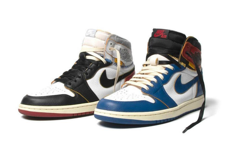 Where to buy shoe laces for the NIKE Air Jordan 1 Union Los Angeles Black Toe and Blue Toe?