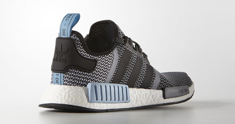 adidas nmd runner grey woven powder blue white