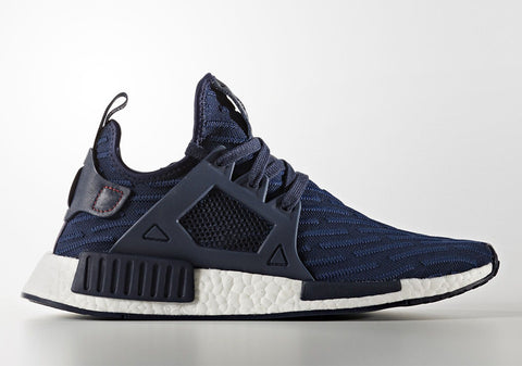 How To Lace Your Sneakers / Swap Your Shoe Laces : ADIDAS NMD XR1 Navy Blue