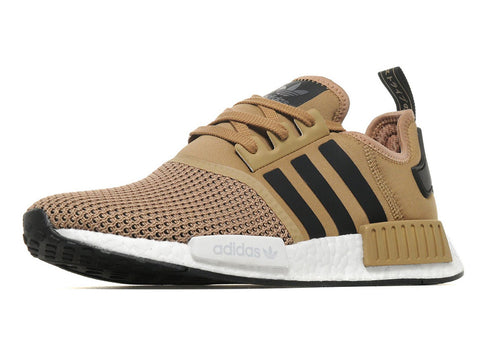 How To Lace Your Sneakers / Swap Your Shoe Laces : ADIDAS NMD R1 Golden Beige