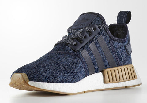 How To Lace Your Sneakers / Swap Your Shoe Laces : ADIDAS NMD R1 Legion Ink
