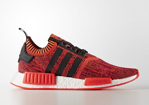 How To Lace Your Sneakers / Swap Your Shoe Laces : ADIDAS NMD R1 Red Apple 2.0