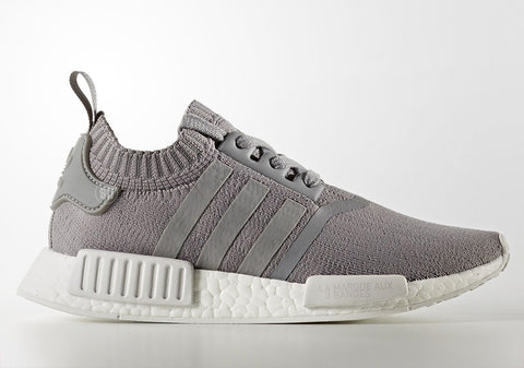 "How To Lace Your Sneakers / Swap Your Shoe Laces : ADIDAS NMD R1 French Primeknit ""Grey"""