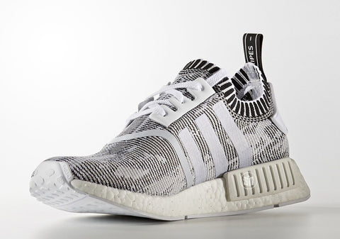 How To Lace Your Sneakers / Swap Your Shoe Laces : ADIDAS NMD R1 Primeknit Glitch Camo