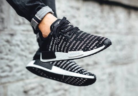 adidas nmd r1 primeknit three stripes