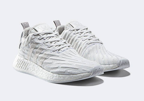 How To Lace Your Sneakers / Swap Your Shoe Laces : ADIDAS NMD R2 Triple White