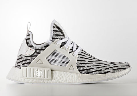 How To Lace Your Sneakers / Swap Your Shoe Laces : ADIDAS NMD XR1 Zebra