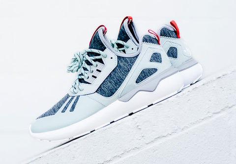 adidas tubular runner weave fleece mint
