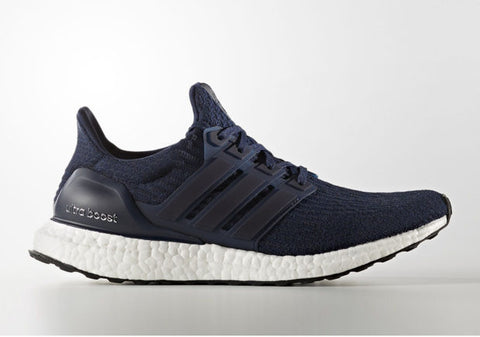 How To Lace Your Sneakers / Swap Your Shoelaces : ADIDAS Ultra Boost 3.0 Collegiate Navy