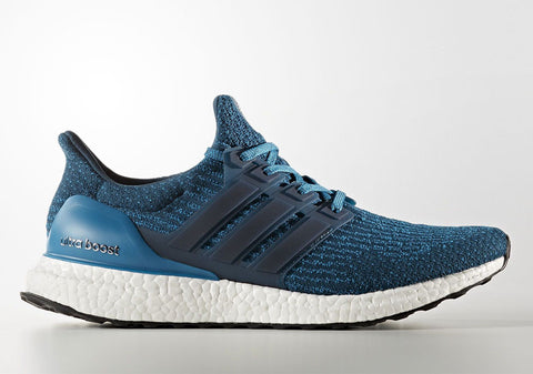 How To Lace Your Sneakers / Swap Your Shoe Laces : ADIDAS Ultra Boost 3.0 Blue Petrol