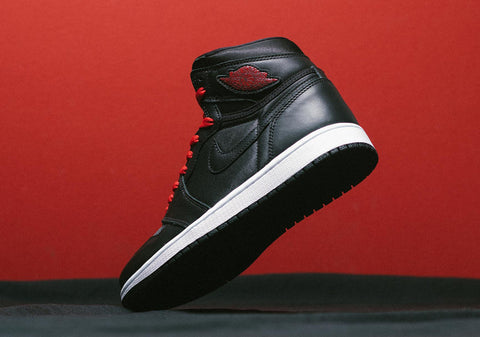 The Air Jordan 1 High Black Satin just dropped!