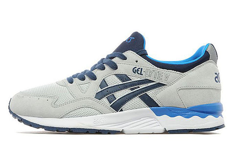 asics gel lyte v grey navy
