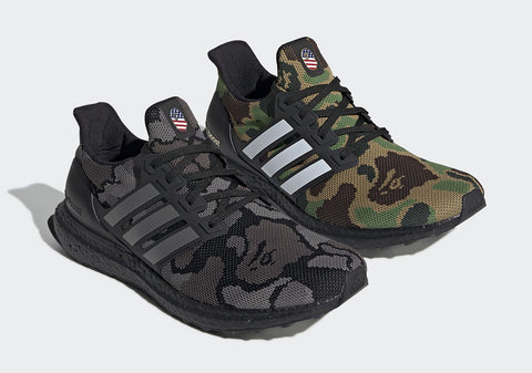 Bape X Adidas Ultra Boost Camo Official Images