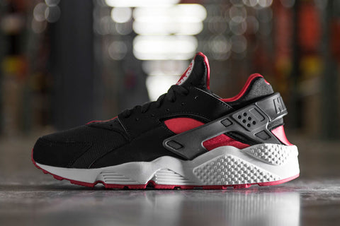 49506bcf5bd7 Shoelace Recommendations - NIKE Air Huarache Bred (Black and Red ...
