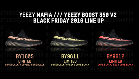 adidas yeezy boost 350 v2 black friday rumours