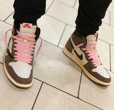 Where to buy shoe laces for Nike Travis Scott Cactus Jack Air Jordan 1?