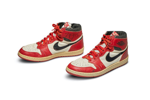 Game worn Air Jordan 1 sold for $560,000, wtf?