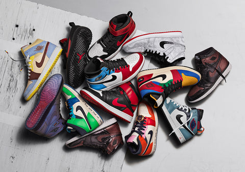 Jordan 1 Fearless Collection coming soon