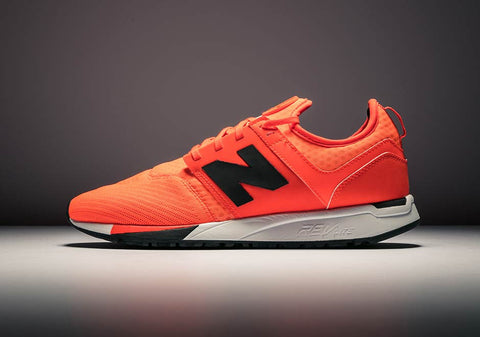 How To Lace Your Sneakers / Swap Your Shoelaces : New Balance 247 Sport Orange