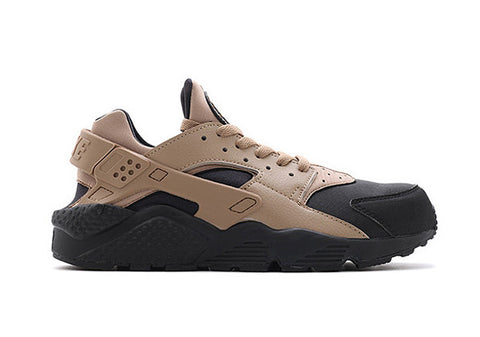 nike air huarache tan black