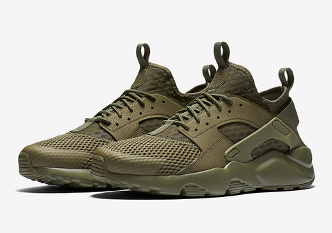 nike air huarache ultra br military green