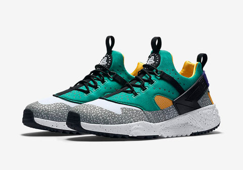 0a055101a7db Shoelace Lace Swap Recommendations - NIKE Air Huarache Utility Emerald -  Slickies