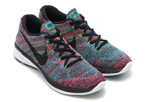 Shoelace Recommendations - NIKE Flyknit Lunar 3 Multicolor