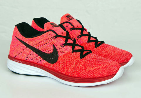 nike flyknit lunar 3 university red bright crimson