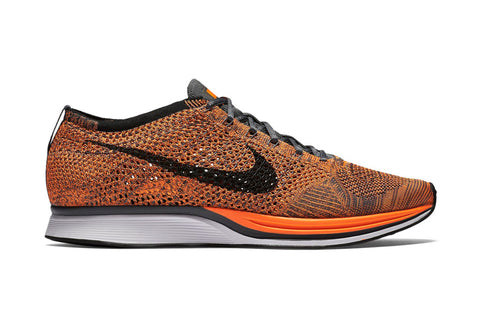 nike flyknit racer orange total