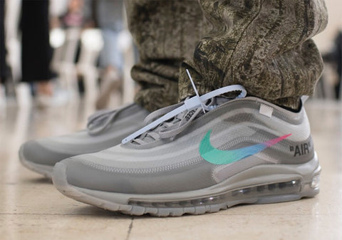 Next generation of Off-White x NIKE Air Max 97 colorways