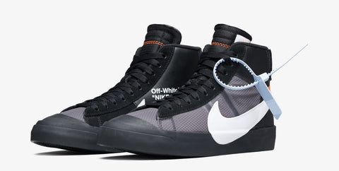 How to Lace Your Sneakers / Swap Your Shoe Laces : NIKE Off-white Blazer Mids