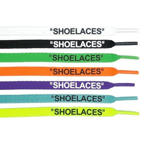 shoelaces off white authentic