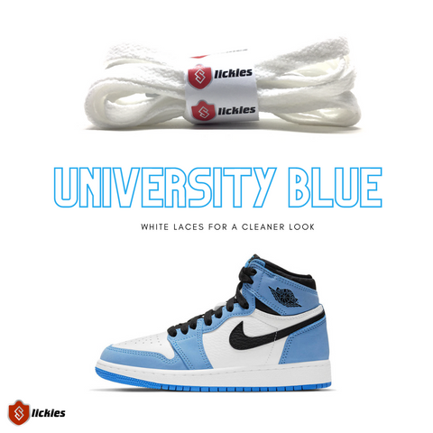 Where to buy shoe laces for the NIKE Air Jordan 1 University Blue?