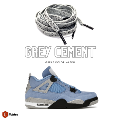 Where to buy shoe laces for the NIKE Air Jordan 4 University Blue?