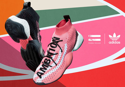 Pharrell's Crazy BYW LVL X releases on July 13th