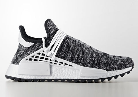 How To Lace Your Sneakers / Swap Your Shoe Laces : ADIDAS NMD Hu Trail Core Black